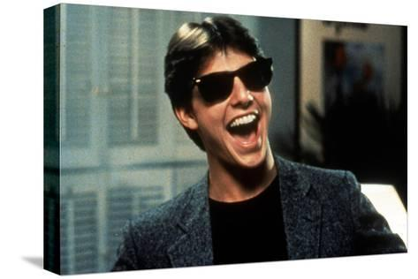 Risky Business, Tom Cruise, 1983--Stretched Canvas Print