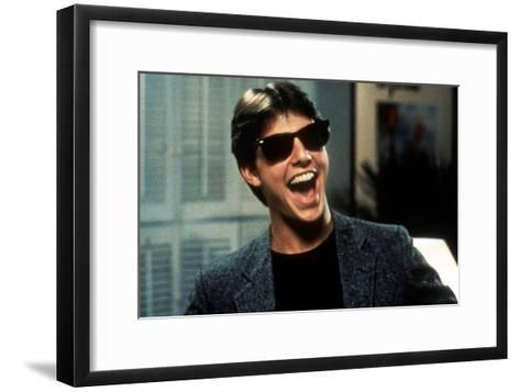 Risky Business, Tom Cruise, 1983--Framed Art Print