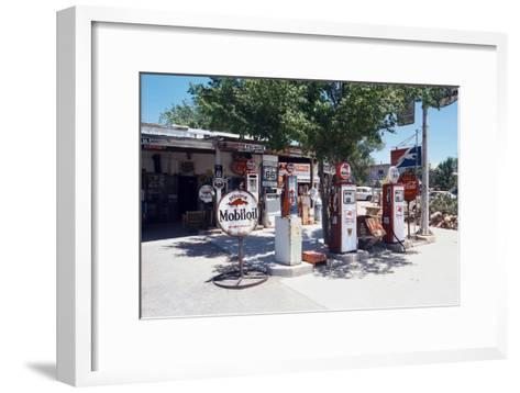 Route 66 Which Cross United States from Los Angeles to Chicago, 2005--Framed Art Print