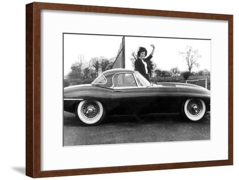 Jaguar Car March 14, 1961--Framed Art Print
