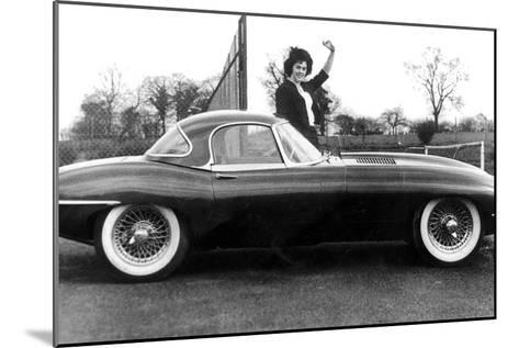 Jaguar Car March 14, 1961--Mounted Photo