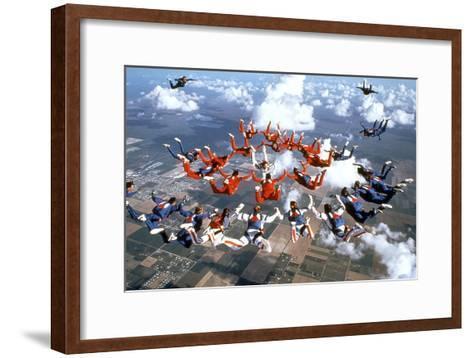 Drop Zone De Johnbadham Avec Wesley Snipes 1994--Framed Art Print