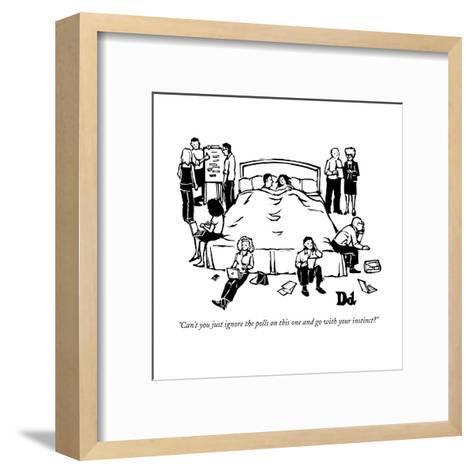 New Yorker Cartoon-Drew Dernavich-Framed Art Print