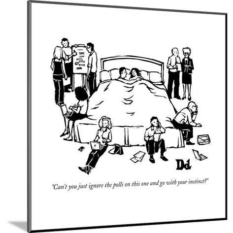 New Yorker Cartoon-Drew Dernavich-Mounted Premium Giclee Print