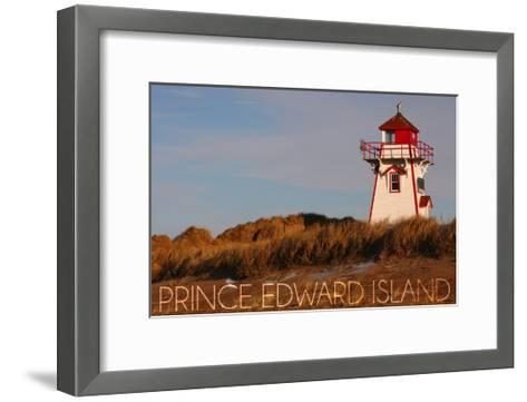 Prince Edward Island - Covehead Lighthouse-Lantern Press-Framed Art Print