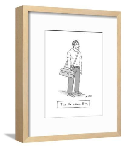 New Yorker Cartoon-Kim Warp-Framed Art Print