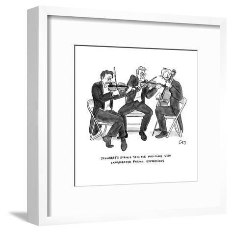 New Yorker Cartoon-Carolita Johnson-Framed Art Print