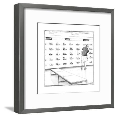 New Yorker Cartoon-Matthew Diffee-Framed Art Print