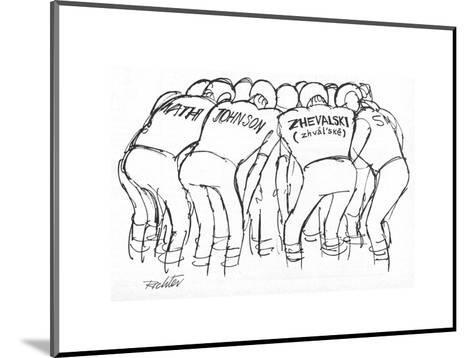 New Yorker Cartoon-Mischa Richter-Mounted Premium Giclee Print