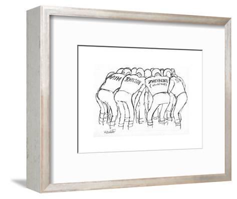 New Yorker Cartoon-Mischa Richter-Framed Art Print