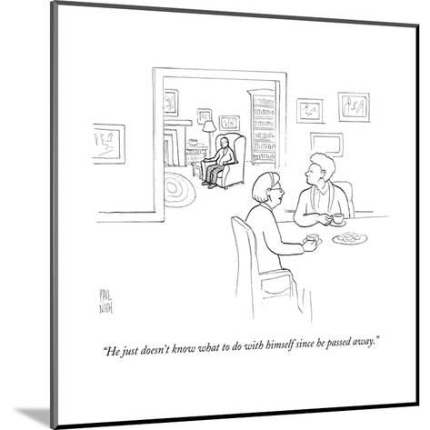 New Yorker Cartoon-Paul Noth-Mounted Premium Giclee Print