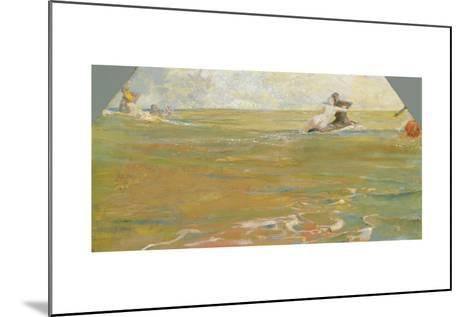 Sea Gods in the Ocean, 1884-85-Max Klinger-Mounted Giclee Print