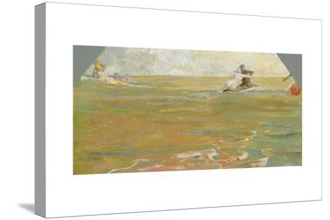 Sea Gods in the Ocean, 1884-85-Max Klinger-Stretched Canvas Print