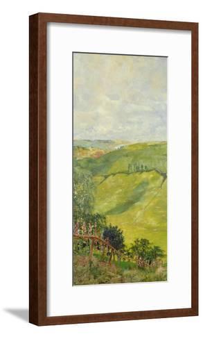 Summer Landscape, 1884-85-Max Klinger-Framed Art Print