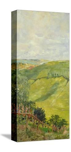 Summer Landscape, 1884-85-Max Klinger-Stretched Canvas Print