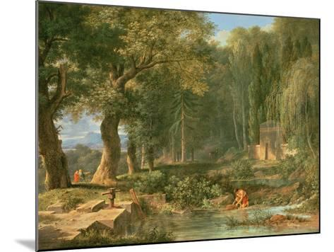 Classical Landscape-Pierre Henri de Valenciennes-Mounted Giclee Print