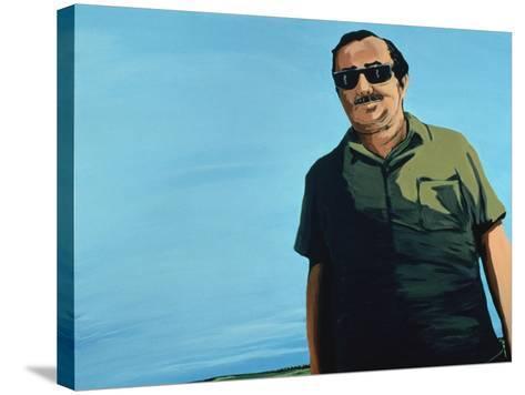 Cuban Portrait, 1996-Marjorie Weiss-Stretched Canvas Print