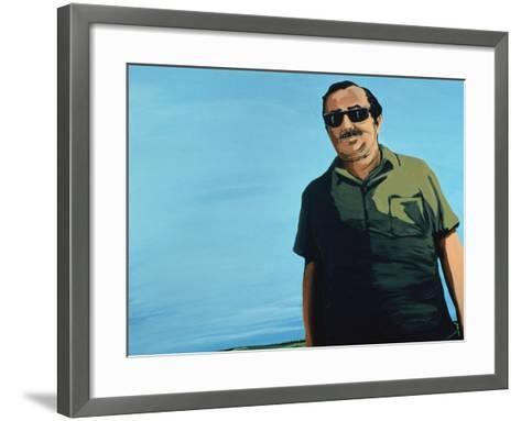 Cuban Portrait, 1996-Marjorie Weiss-Framed Art Print