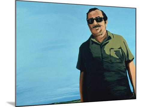 Cuban Portrait, 1996-Marjorie Weiss-Mounted Giclee Print