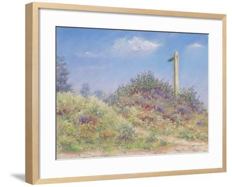 Public Footpath, 2002-Anthony Rule-Framed Art Print