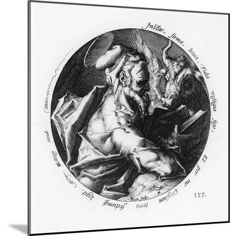 St. Luke-Hendrik Goltzius-Mounted Giclee Print
