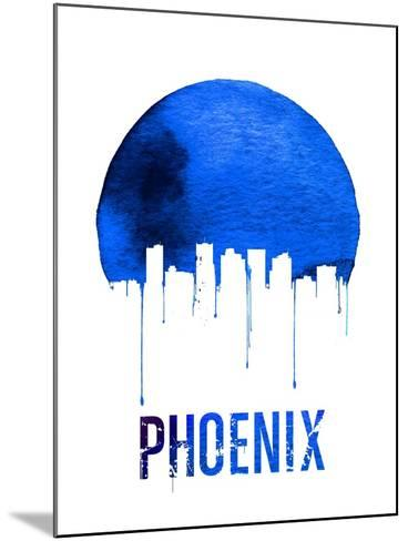 Phoenix Skyline Blue--Mounted Art Print