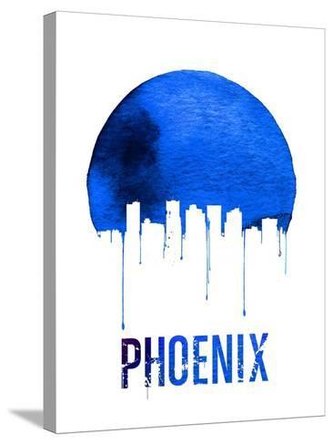 Phoenix Skyline Blue--Stretched Canvas Print