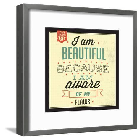 I'm Beautiful-Lorand Okos-Framed Art Print