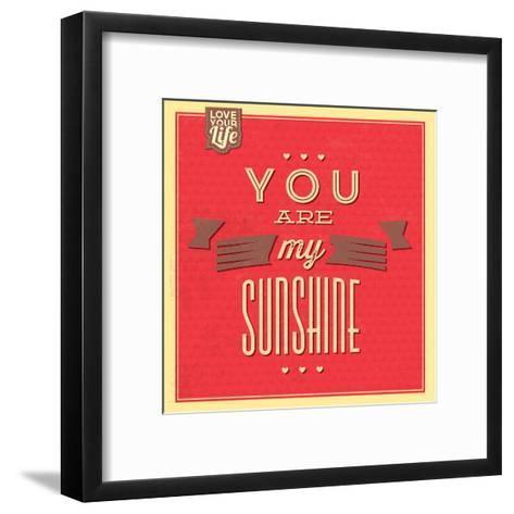 You are My Sunshine-Lorand Okos-Framed Art Print