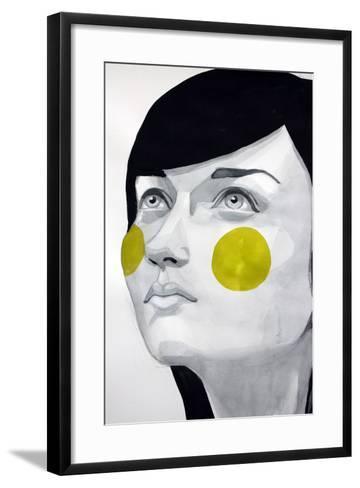 Hope-Rebekka -Framed Art Print