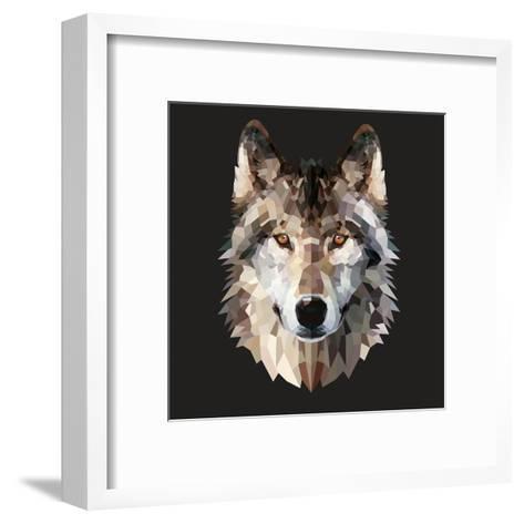 Woof-Lora Kroll-Framed Art Print