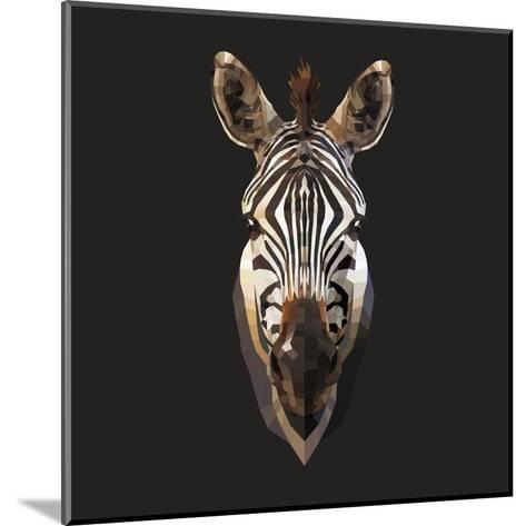Zebra-Lora Kroll-Mounted Art Print