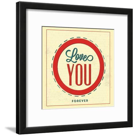 Love You Forever-Lorand Okos-Framed Art Print