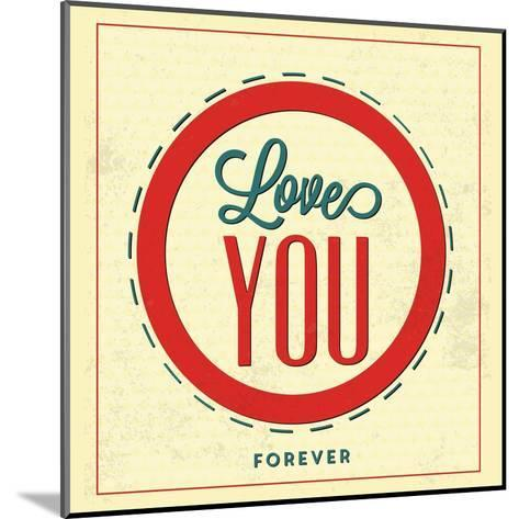 Love You Forever-Lorand Okos-Mounted Art Print