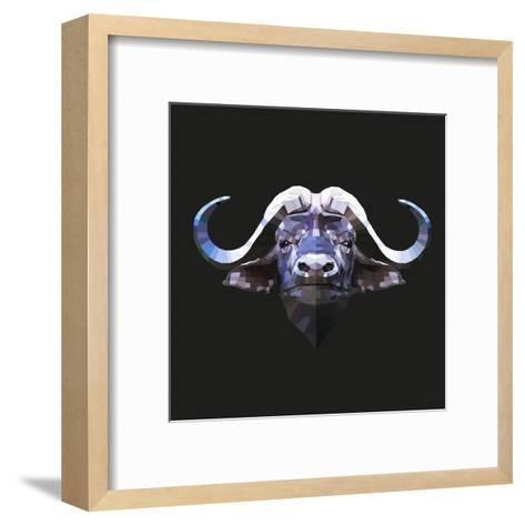 Bull-Lora Kroll-Framed Art Print