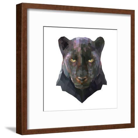Panther-Lora Kroll-Framed Art Print