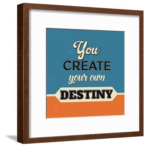 You Create Your Own Destiny-Lorand Okos-Framed Art Print