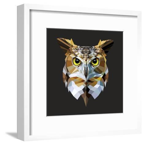 Owl-Lora Kroll-Framed Art Print