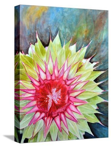 Thistle-Jennifer Redstreake Geary-Stretched Canvas Print