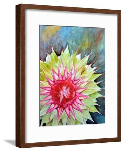Thistle-Jennifer Redstreake Geary-Framed Art Print