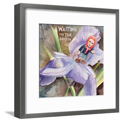 Waiting for the Doctor 2-Jennifer Redstreake Geary-Framed Art Print