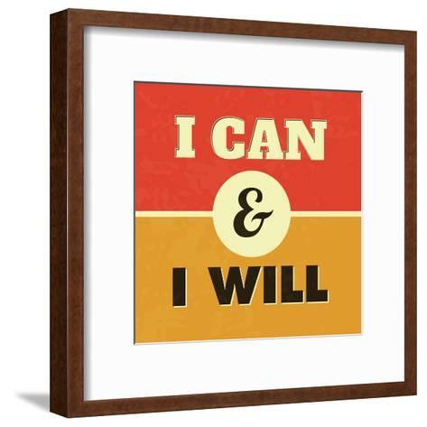 I Can and I Will-Lorand Okos-Framed Art Print