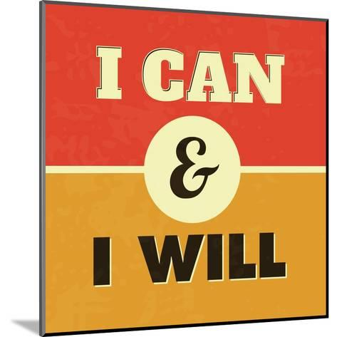 I Can and I Will-Lorand Okos-Mounted Art Print