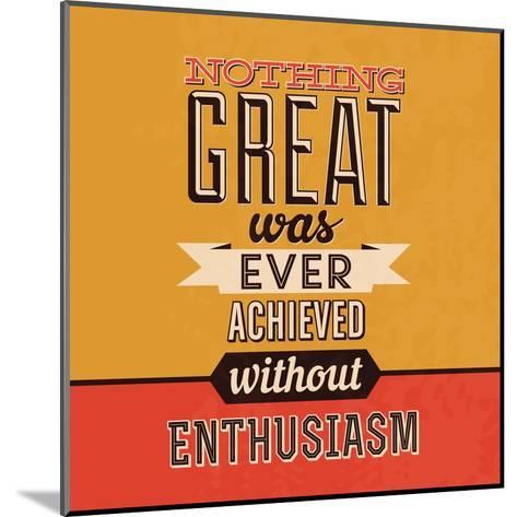 Enthusiasm-Lorand Okos-Mounted Art Print