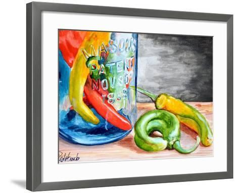 Chili Peppers-Jennifer Redstreake Geary-Framed Art Print