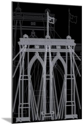 Brooklyn Night-Cristian Mielu-Mounted Art Print