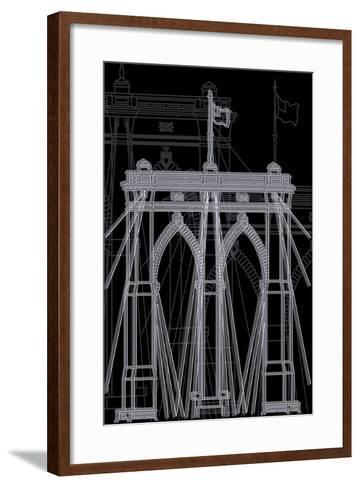 Brooklyn Night-Cristian Mielu-Framed Art Print