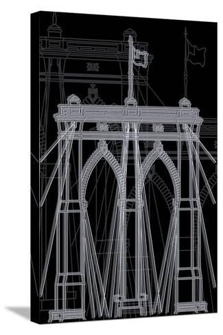 Brooklyn Night-Cristian Mielu-Stretched Canvas Print