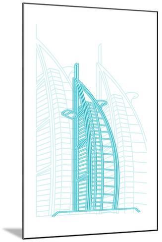 Dubai-Cristian Mielu-Mounted Art Print