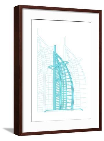 Dubai-Cristian Mielu-Framed Art Print